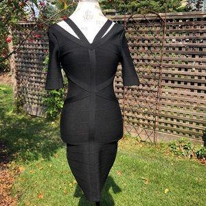 Venus bodycon strap dress NWT